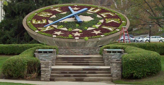 Floral Clock Frankfort KY